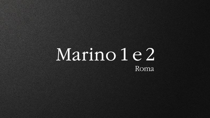 Marino 1 e 2